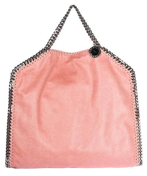 Handbag Stella Mccartney Falabella Fold Over 234387W91326553 rosa