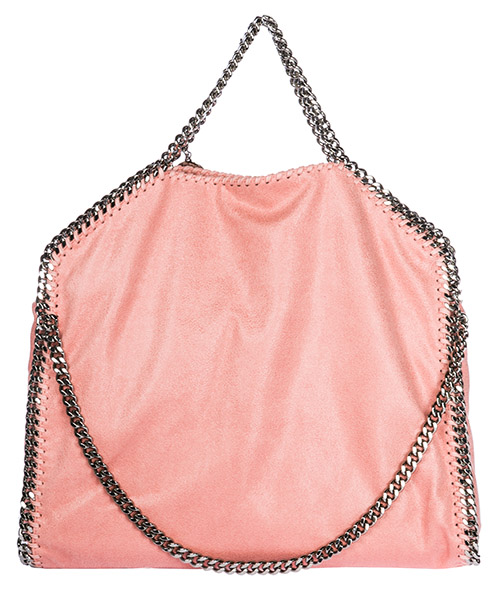 сумка с короткой ручкой женская tote falabella 3chain fold over shaggy deer secondary image