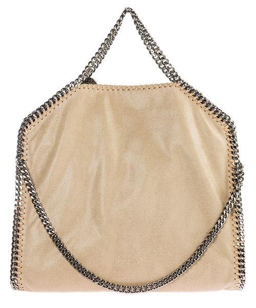 Handbags Stella Mccartney Falabella Fold Over 234387W91329300 beige