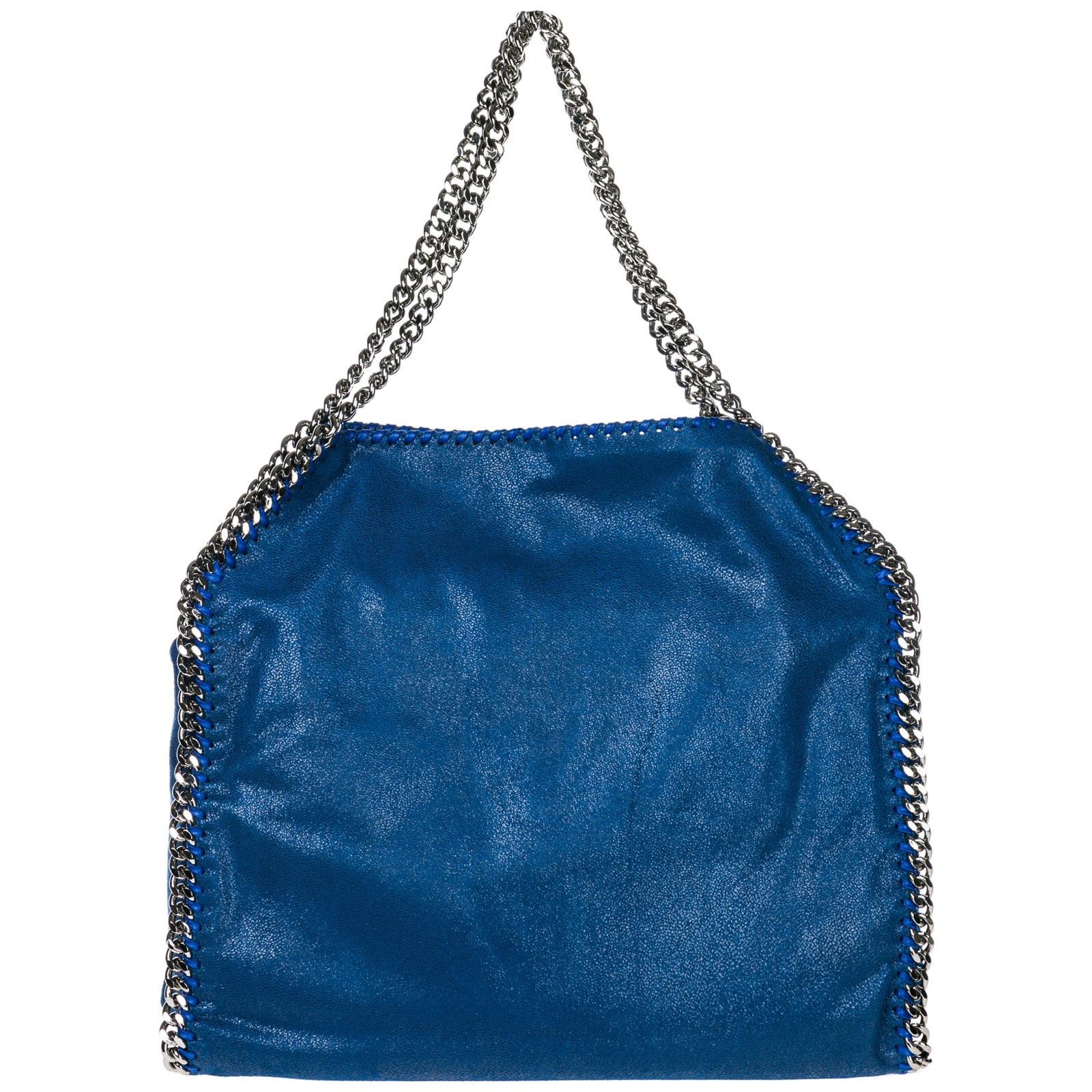 d9ef06158fec Shoulder bag Stella Mccartney Falabella Small 261063W91324040 blu ...