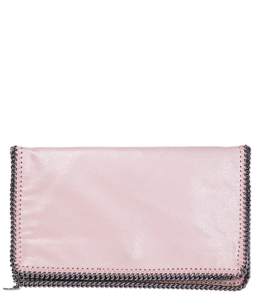 Clutch bag Stella Mccartney Falabella Fold Over 278014W95535702 rosa
