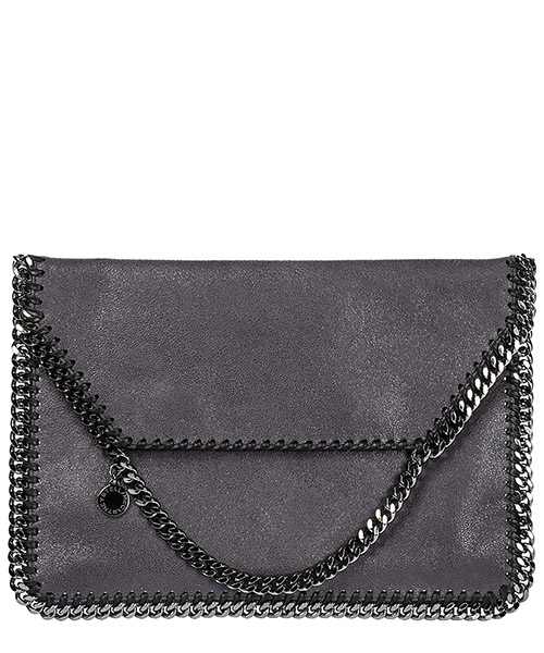 Clutch Stella Mccartney 358088W91323250 grigio
