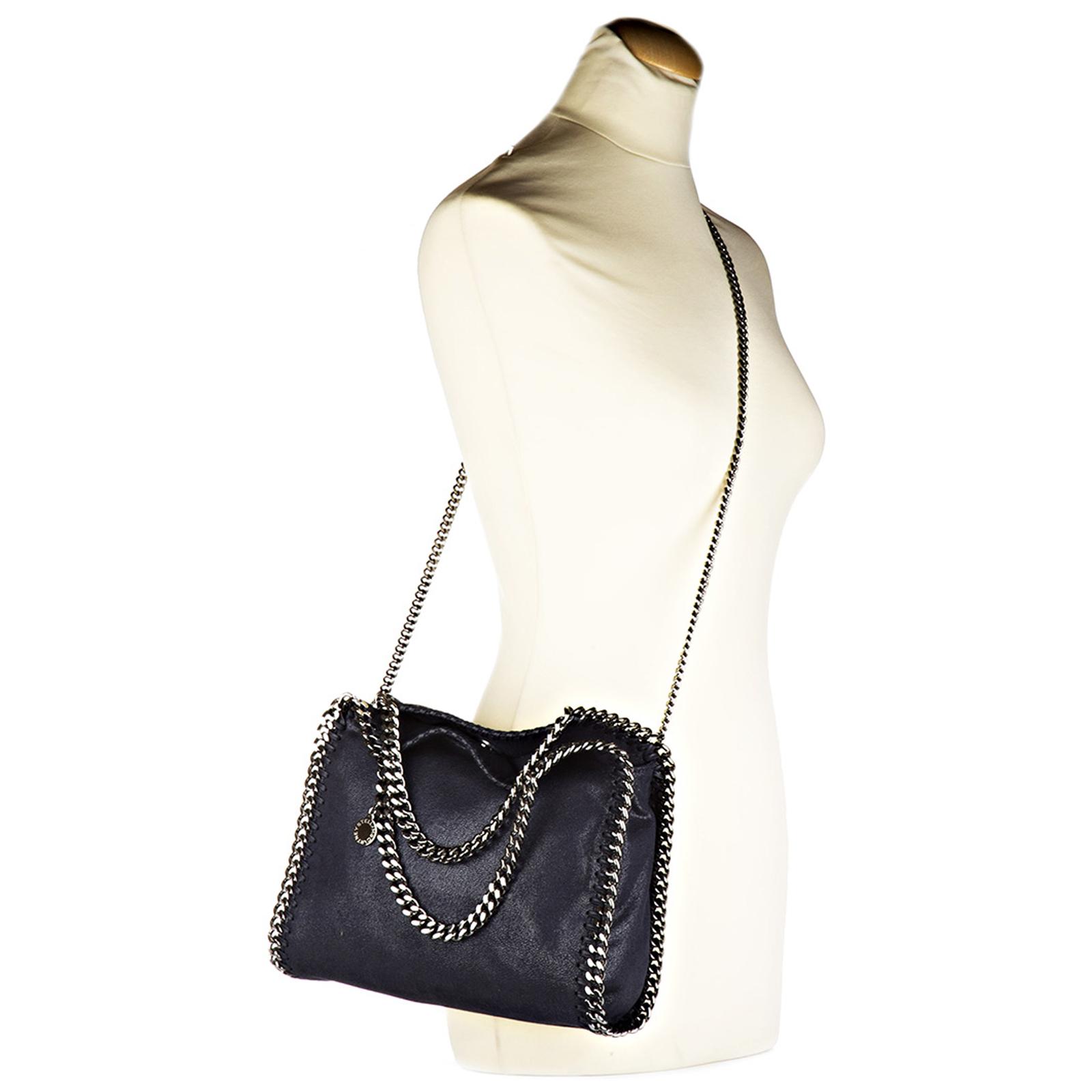 5f1dfdf44ac7 ... Women s handbag shopping bag purse falabella mini shaggy deer ...
