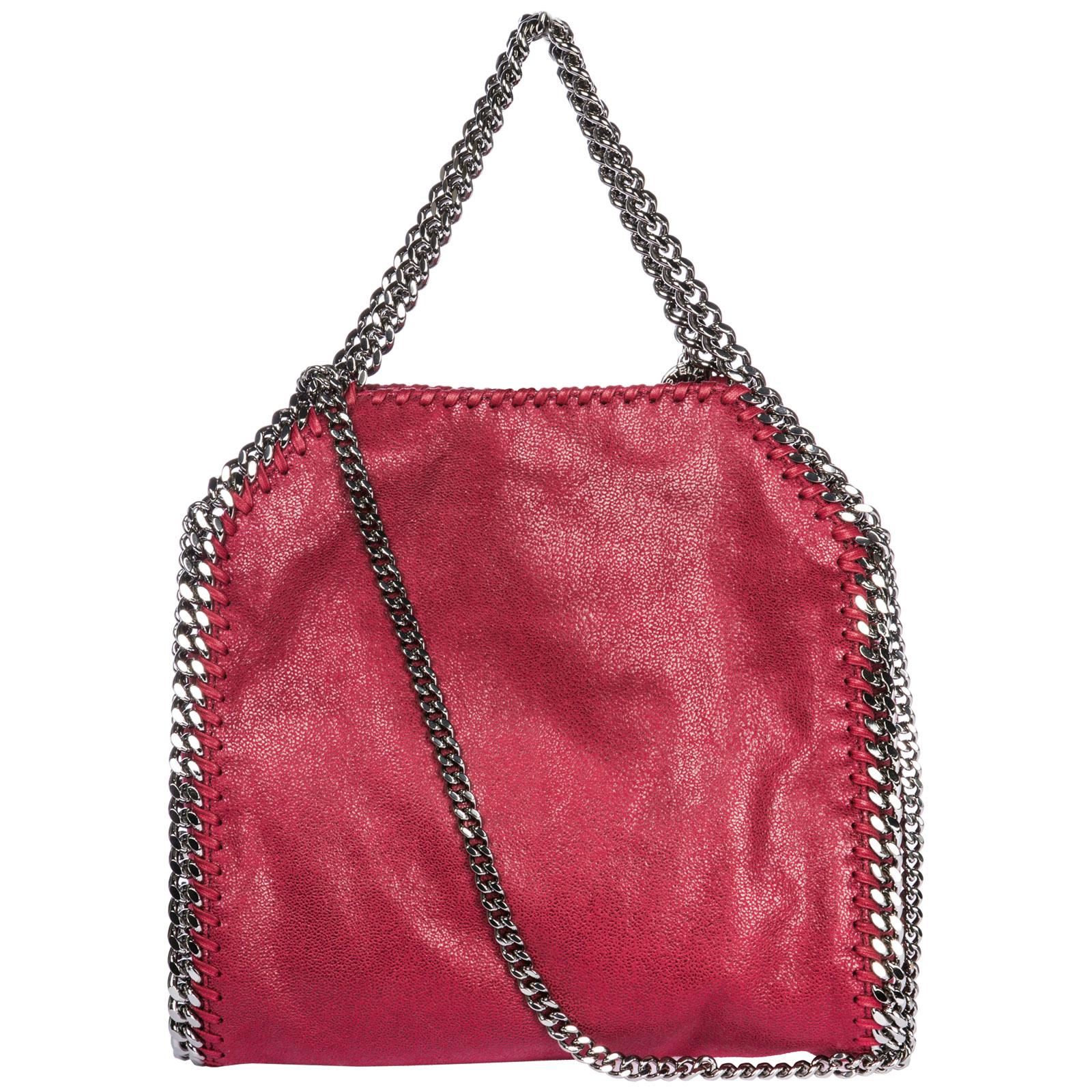 Borsa a mano Stella Mccartney Falabella Mini 371223W91326201 rosso ... 8ac10411dcb