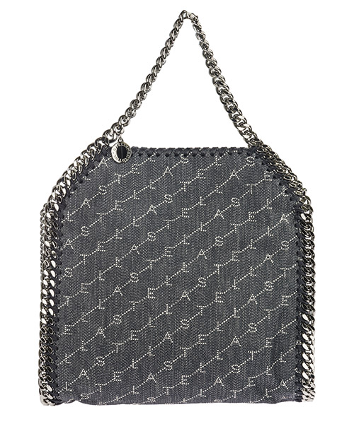 Bolso de mano Stella Mccartney Falabella Mini 371223W84684061 ink monogram