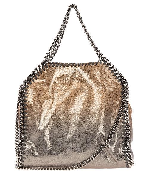 Sac à main femme tote falabella mini shaggy deer metallic degrade secondary image