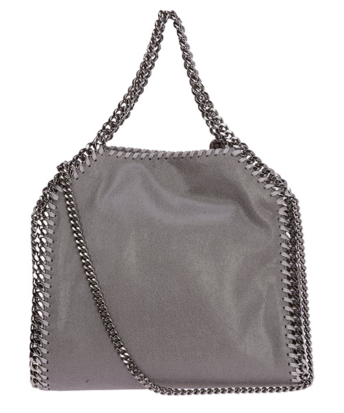 Borsa donna a mano shopping  falabella mini shaggy deer secondary image