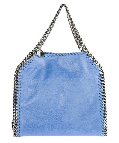 Bolso de mano Stella Mccartney Falabella Mini 371223W91324324 azzurro