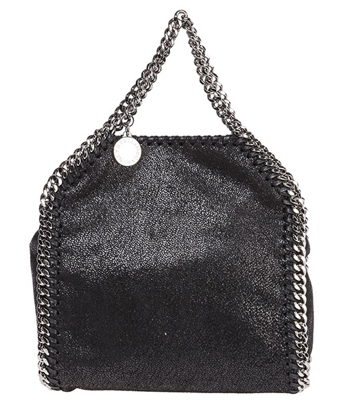 Women's handbag shopping bag purse tote falabella tiny shaggy deer
