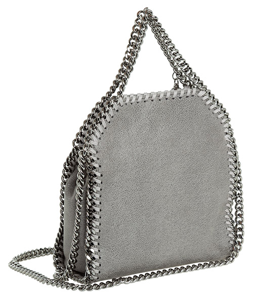 Women's handbag shopping bag purse tote falabella tiny secondary image