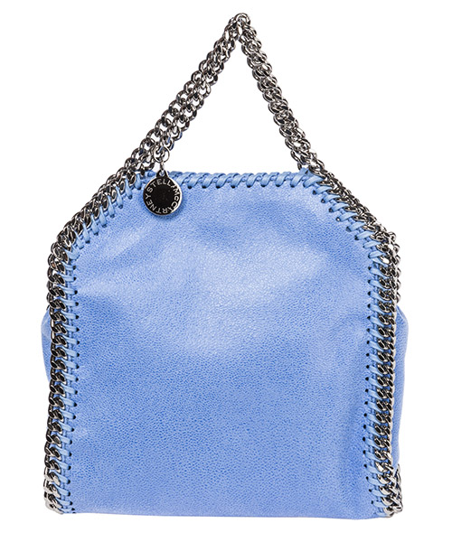 Sac à main Stella Mccartney Falabella Tiny 391698W91324324 azzurro