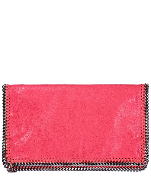 Clutch bag Stella Mccartney Falabella Fold Over 392453W96701042 rosa