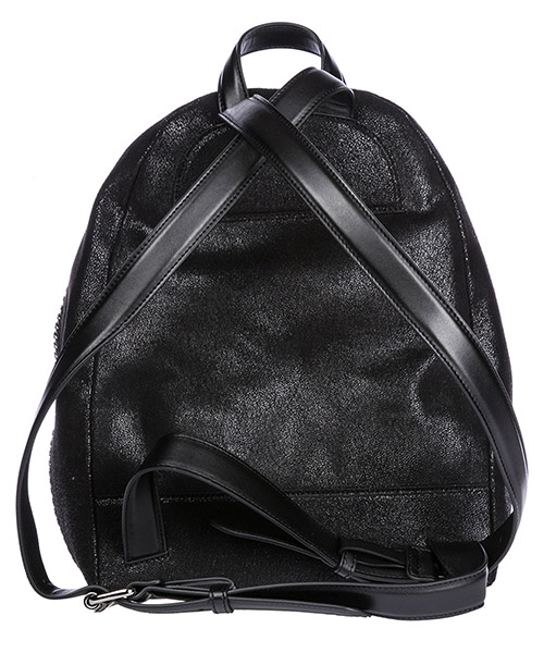 Women's rucksack backpack travel  shaggy secondary image