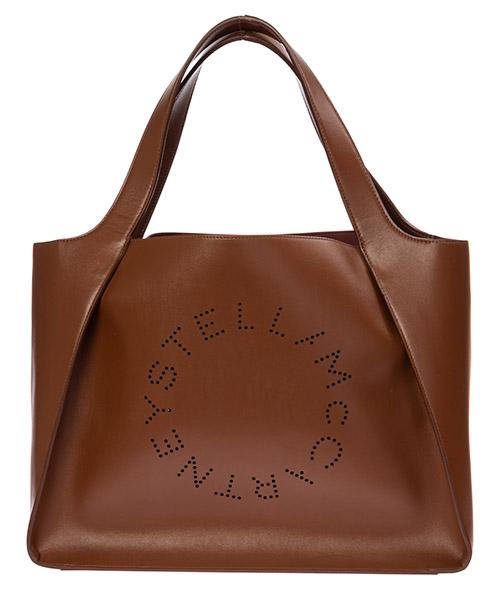 Bolsas de mano Stella Mccartney stella logo 502793w85427773 marrone