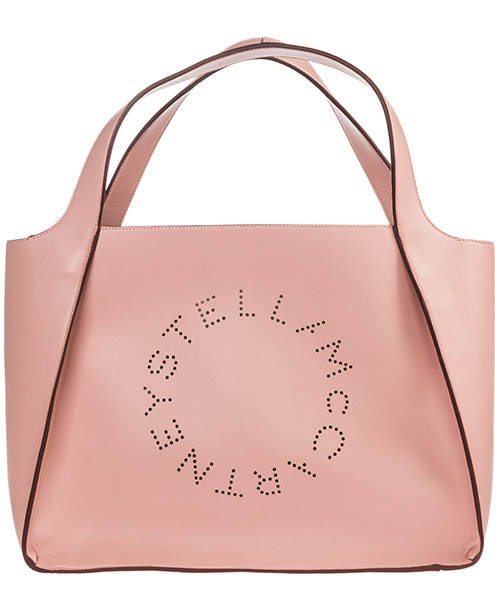 Shoulder bag Stella Mccartney Logo 502793W99236553 rosa