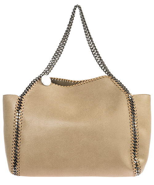 Shoulder bag Stella Mccartney Falabella Reversible 507185W81879300 beige