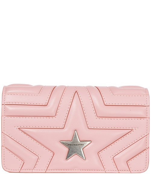 Crossbody bags Stella Mccartney Stella star 529306W82146553 rosa