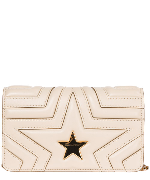 Crossbody bags Stella Mccartney Stella star 529306W82149020 beige