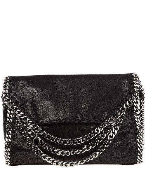 Shoulder bag Stella Mccartney falabella fold over 557837w84751000 nero