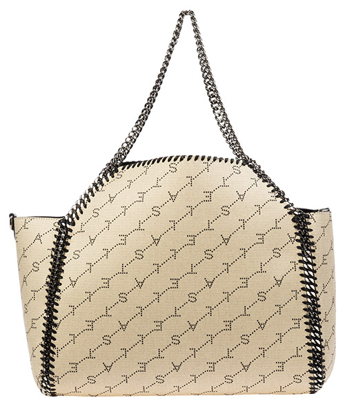 Borsa donna a spalla shopping  falabella reversible monogram secondary image