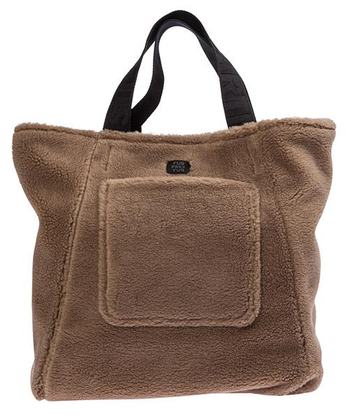 сумка с короткой ручкой большая женская fur free fur secondary image