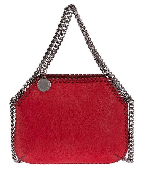 Mini-Tasche Stella Mccartney falabella mini 7000109w87196501 rosso