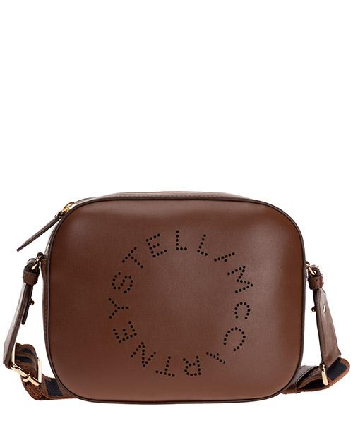 Sac bandoulière Stella Mccartney logo 700072W85427773 marrone