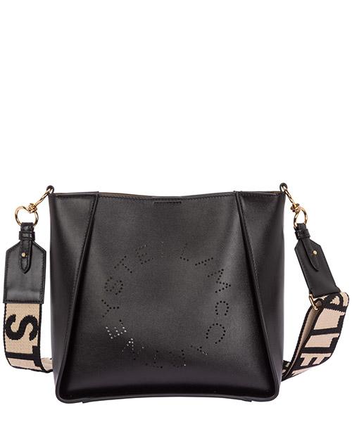 Sac porté épaule Stella Mccartney logo 700073W85421000 nero