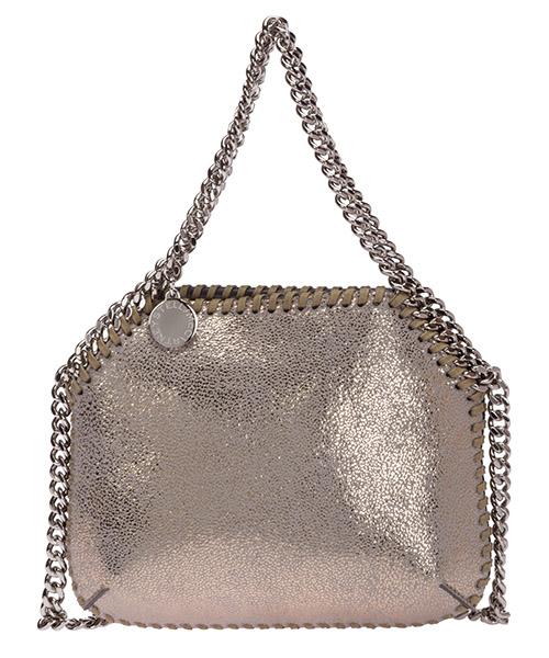 Mini-Tasche Stella Mccartney falabella mini 700109w8721t702 argento