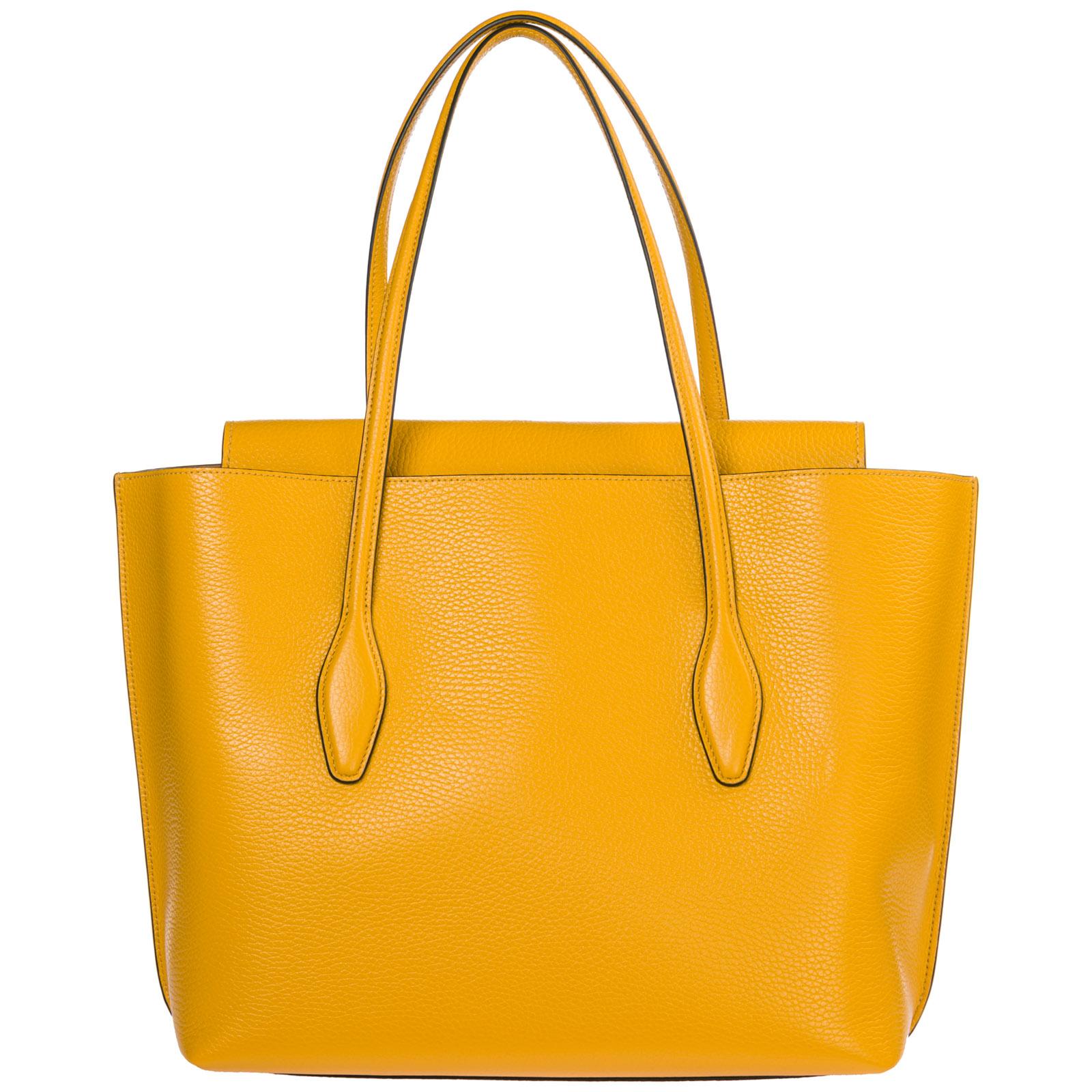 68da33e32b0e Borsa a spalla Tod S Joy Bag Media XBWANXA0300FFXG407 giallo ...