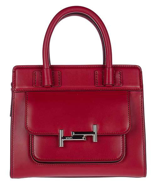 Handbag Tod's XBWAMUU0100PUPR018 rosso