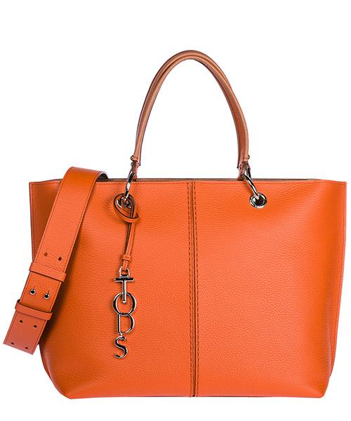 Borsa a mano Tod's Joy Bag Media XBWANQAC300RIB5Z77 arancione