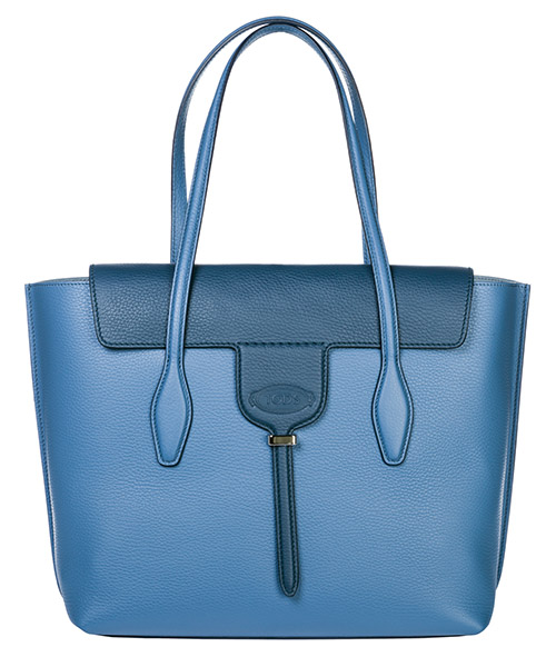 Handbag Tod's Joy Bag Media XBWANXA0300RIB8Z39 blu