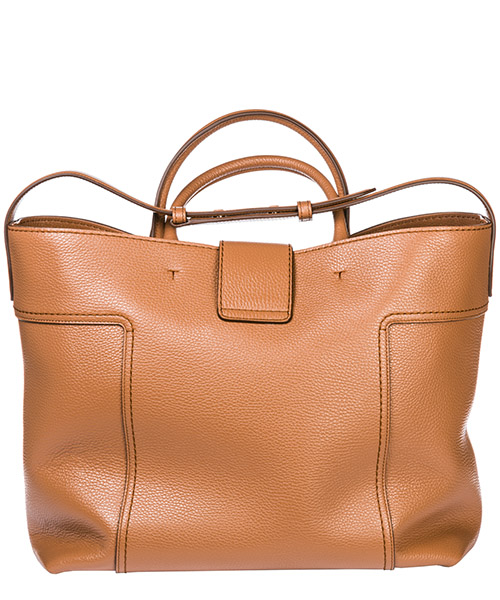 Borsa donna a mano shopping in pelle double t secondary image