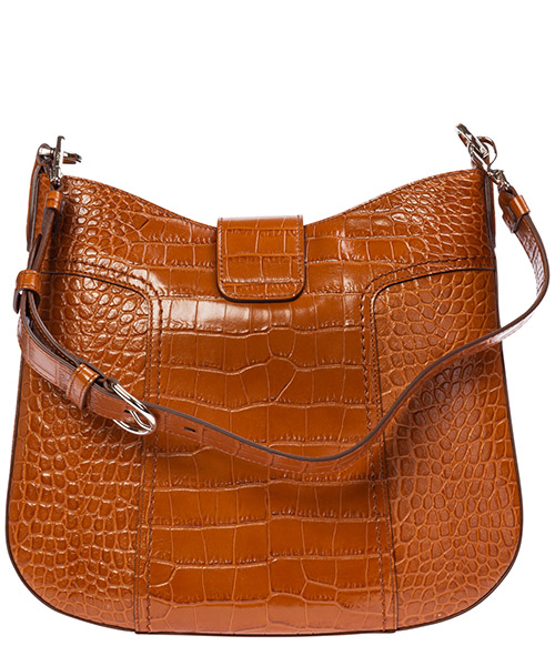 Women's leather shoulder bag double t secondary image