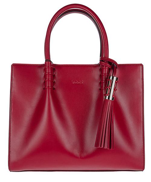 Handbag Tod's XBWLDMU0100PUPR018 rosso