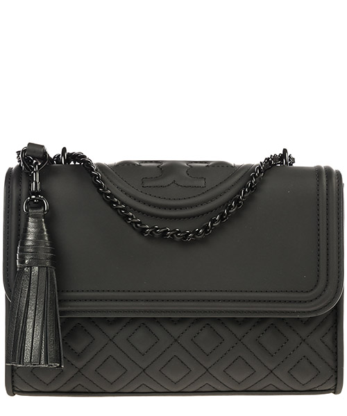 Shoulder bag Tory Burch Fleming 39927 001 nero