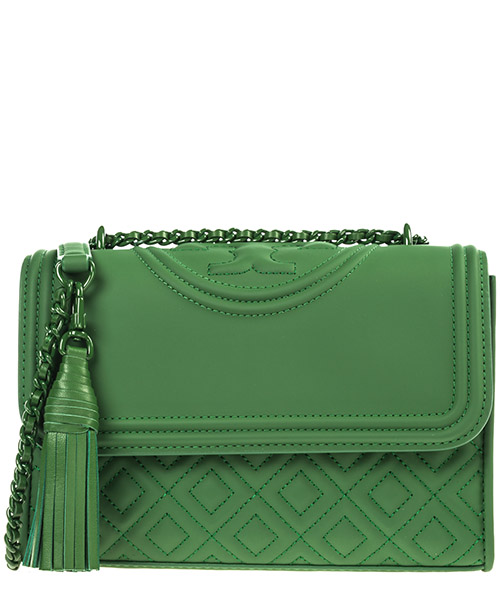 Shoulder bag Tory Burch Fleming 39927 367 arugula