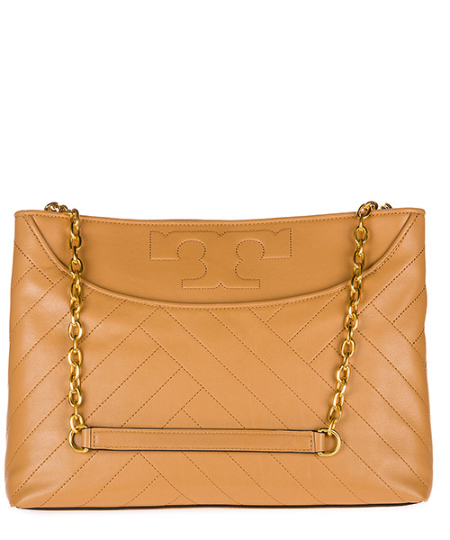 Women's leather shoulder bag alexa secondary image