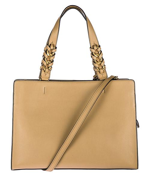Women's leather shoulder bag brooke satchel secondary image