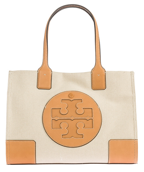 Shoulder bag Tory Burch Ella mini tote 45208 natural / ivory