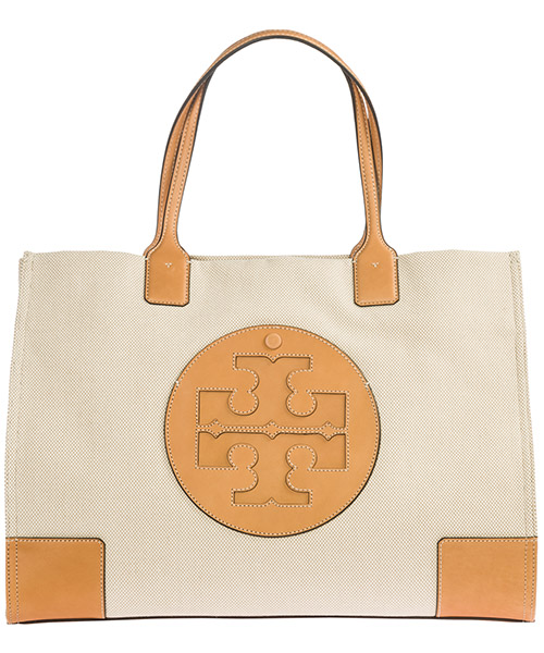 Shoulder bag Tory Burch Ella 45209 natural / ivory