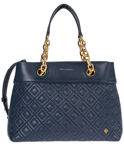Handbags Tory Burch Fleming 46164 403 blu