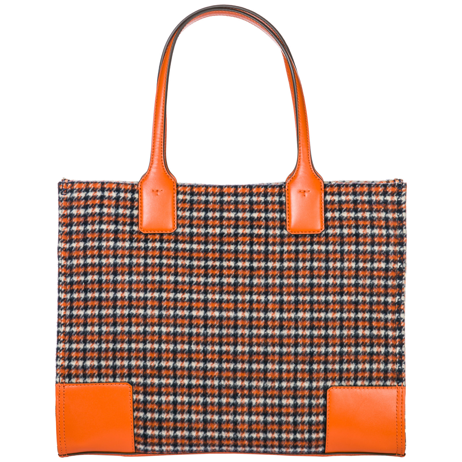 Women's handbag shopping bag purse tote ella plaid
