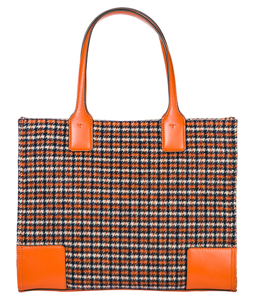 Women's handbag shopping bag purse tote ella plaid secondary image