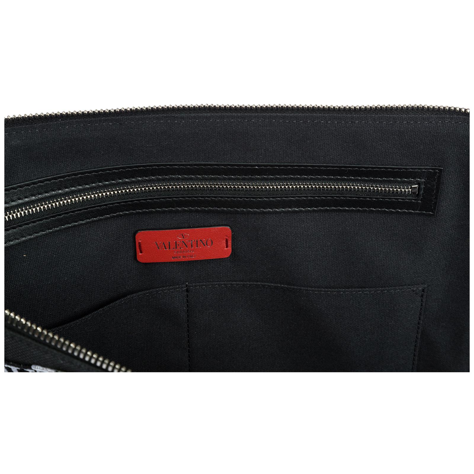 Men's briefcase document holder wallet