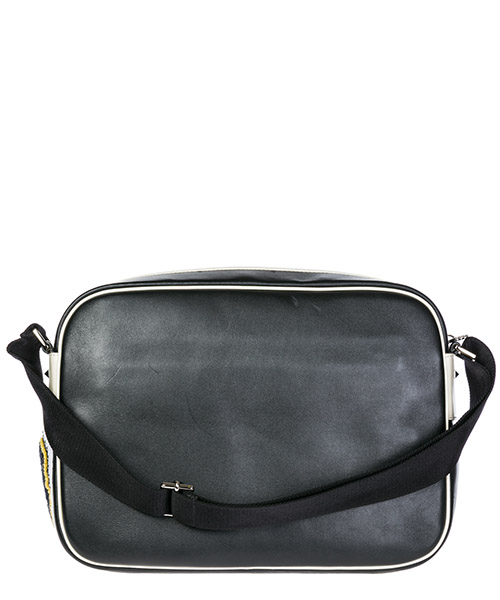 Men's leather cross-body messenger shoulder bag secondary image