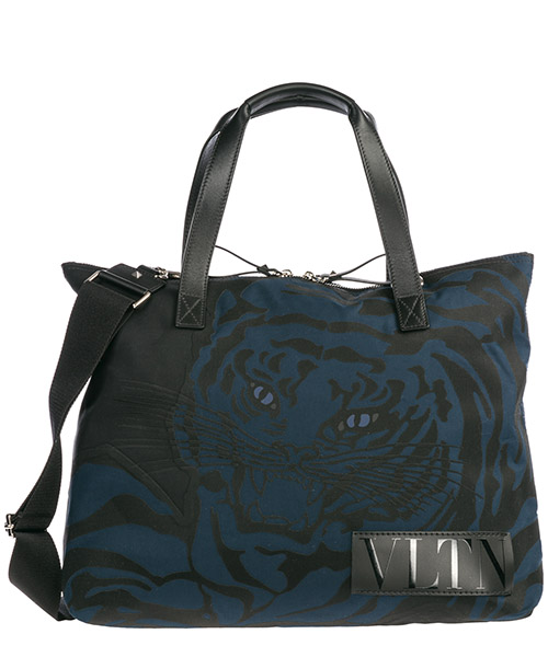 Men's bag handbag nylon  tiger