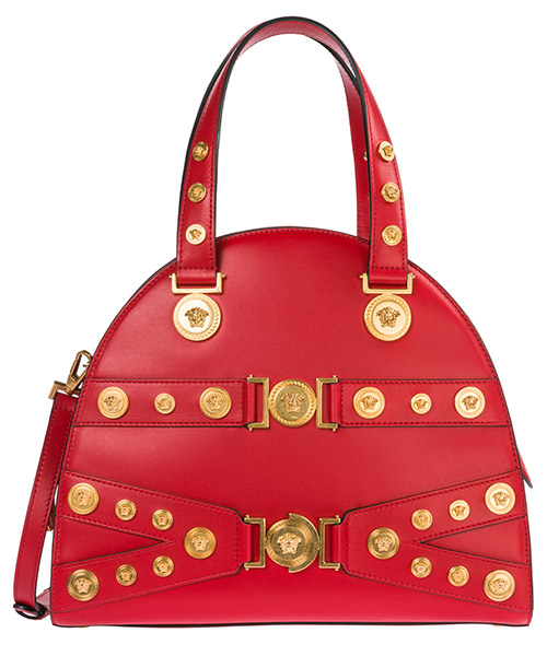 Handtaschen Versace Tribute DBFG307-DV1T_D6TNT rosso - nero - oro