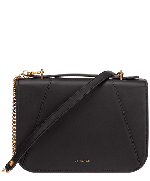 Women's leather shoulder bag virtus secondary image